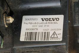 03-06 Volvo s80 XENON HID Glass Headlight w/Corner Light Passenger Right RH image 6