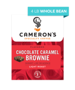 CAMERON'S WHOLE BEAN CHOCOLATE CARAMEL BROWNIE 4LB PACKAGE - $44.46