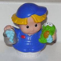 Fisher Price Current Little People Little Boy With Frog FPLP - $3.00