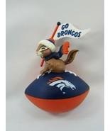 Hallmark NFL Collection Go Broncos Ornament 32491 Vintage - $17.81