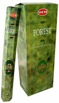Hem Forest Incense Sticks Beautiful Handmade Natural Fragrances 6x20= 120 Sticks - $16.23
