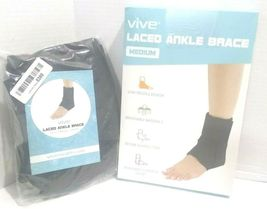 Vive Lace Up Ankle Brace - Foot Support - Size Medium (OPEN BOX NEW) USA----FL image 9