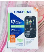 TracFone Cell Phone NEW - Samsung S380C - Bluetooth / MP3 Player / Camera - $49.49