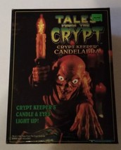 TALES FROM THE CRYPT KEEPER CANDELABRA 1996 TRENDMASTERS LIGHT UP LAMP S... - $41.14