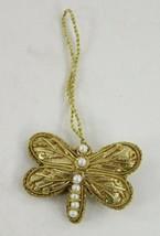 Dragon Fly Fiber Ornament Possible Handmade Ornament? Shiny Dragon Fly - $14.25