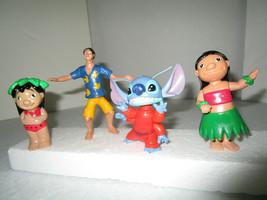 Lilo & Stitch, David Kawena 3 Bobbles Action Figures - Lot of 4 Disney d... - $7.99