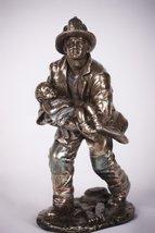 Fireman Rescue Child Statue - $34.74