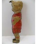 RARE!! 1920'S VINTAGE SKEEZIX OIL CLOTH DOLL BY KING GASOLINE ALLEY COMIC - $107.91