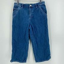Lauren Jeans Co. Ralph Lauren Jeans Women's 6P Blue Petite Medium Wash Z... - $9.46