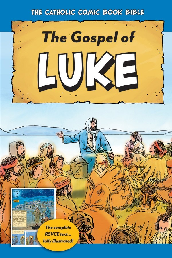 The catholic comic book bible the gospel of luke