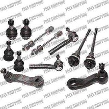 12 Pcs Suspension Kit  Upper Ball Joint Sway Bar Link For 4WD GMC Sierra... - $82.27