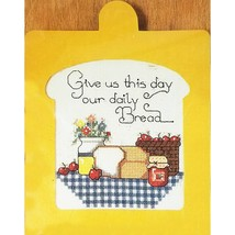 Our Daily Bread Counted Cross Stitch Kit 7 x 9 Gallery Crafts 32490 c2705 - $11.99
