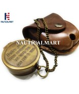 NauticalMart Brass Compass Follow Your Inner Compass Quote Engraved with... - $29.00