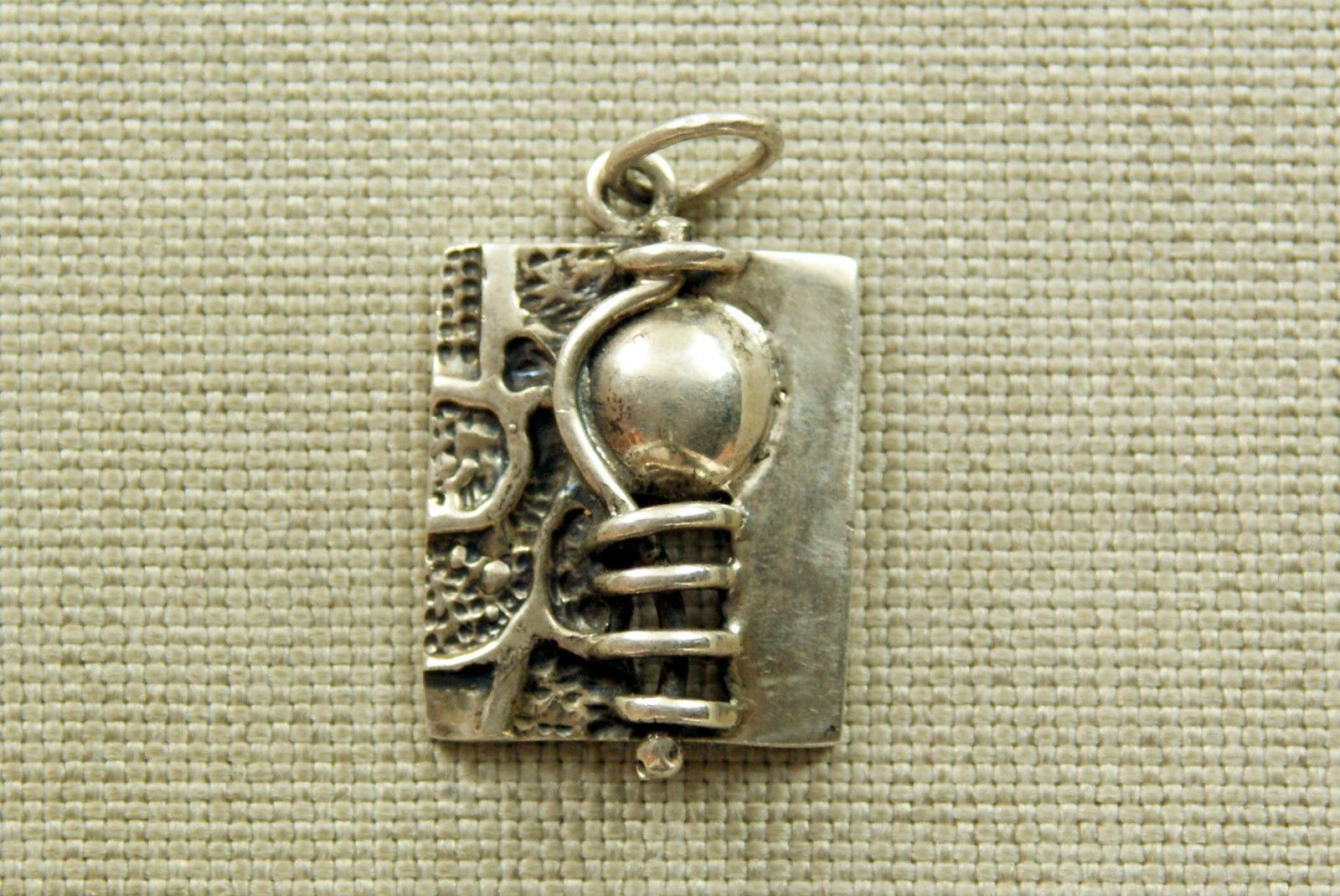 Art 925 SILBER Anhänger pendant Schmuck silver charm für Kette jewellry RAR