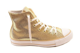 Converse Womens CTAS Stingray Metallic 553344C Sneakers Gold Size US 6 R... - $59.00