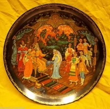 Bradford Exchange Plate Snowmaiden 7 3/4in Russian 3rd Plate #7397 - $40.15