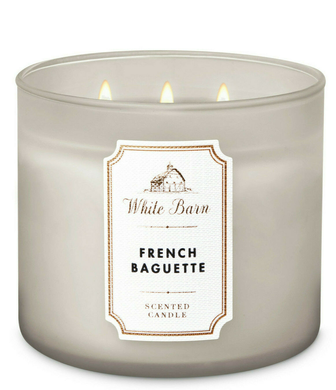 White Barn French Baguette Three Wick.14.5 Ounces Scented Candle