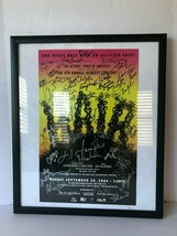 Hair Actors Fund 4th Annual Benefit Concert Poster Framed Signed 2004 Vt... - $196.89