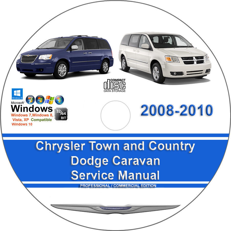 9. 9. Chrysler Town and Country, Dodge Caravan 2008-2010 Factory Service  Repair Manual