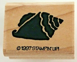 Stampin Up Fish Frolics Stamp Conch Shell Sea Ocean Beach Vacation Card Making - $4.00