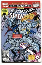 Spectacular SPIDER-MAN Annual #12 Solo Venom Story Comic Book Marvel - $18.92