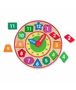 Melissa & Doug Shape Sorting Clock - $21.00