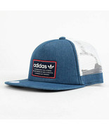 ADIDAS Originals Patch Trucker hat cap Thrasher Trefoil Snapback relaxed... - $19.27