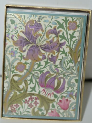 Caspari 85631 46 Golden Lily The Huntington Library Art Collect Cards & Envelope