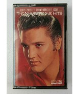 Elvis Presley Commemorative Issue The Number One Hits Cassette Tape 1988 - $9.99
