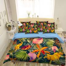 3D Leaf Flower 1 Bed Pillowcases Quilt Duvet Cover Set Single Queen King Size AU - $90.04+