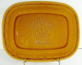 "Franciscan Wheat Serving Platter 12"" Large Plat... - $11.82"
