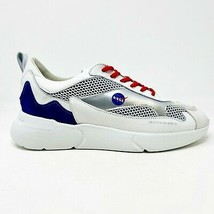 Mercer W3RD NASA Apollo 11 White Silver Blue Mens Size 10 ME0274183145 - $299.95