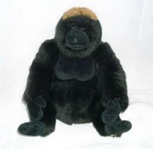 Ganz Webkinz Segno Distintivo Western Lowland Gorilla Oro Peluche Scimmia - $30.73