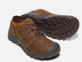 Keen Grayson Low Size 9 M (D) EU 42 Men's Lace Up Oxford Shoes Mid Brown 1018957