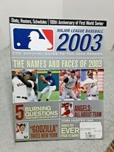 MLB Major League Baseball Official 2003 Season Guide Magazine 224 Pages - $8.59