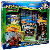Pokemon Diamond and Pearl Collectors Poster Box TCG 3 Booster Packs & Th... - $54.99