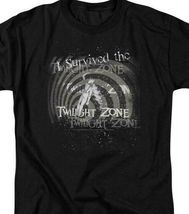I Survived the Twilight Zone t-shirt retro Sci-Fi TV series graphic tee CBS168  image 3