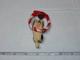Hallmark Keepsake Ornament Puppy Love Yorkshire 10th in Series 2000 Chri... - $13.89