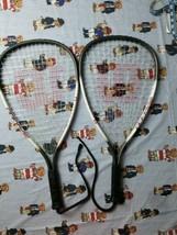2 Wilson Xpress Titanium Racquetball Rackets - $29.69