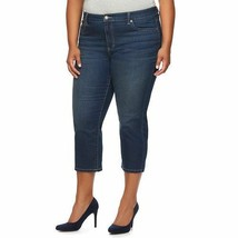 Jennifer Lopez Refined Capri Jeans DELILAH Women's PLUS Sz 24W NWT MSRP$54 - $26.93
