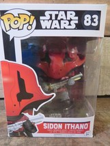 SIDON ITHANO Star Wars Funko POP Vinyl Figure 83 NEW - $4.94