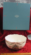 "Vintage Lenox ""The Joys Of Christmas Bowl"" 1992 Made In U.S.A. W/ORIGINAL Box - $36.99"