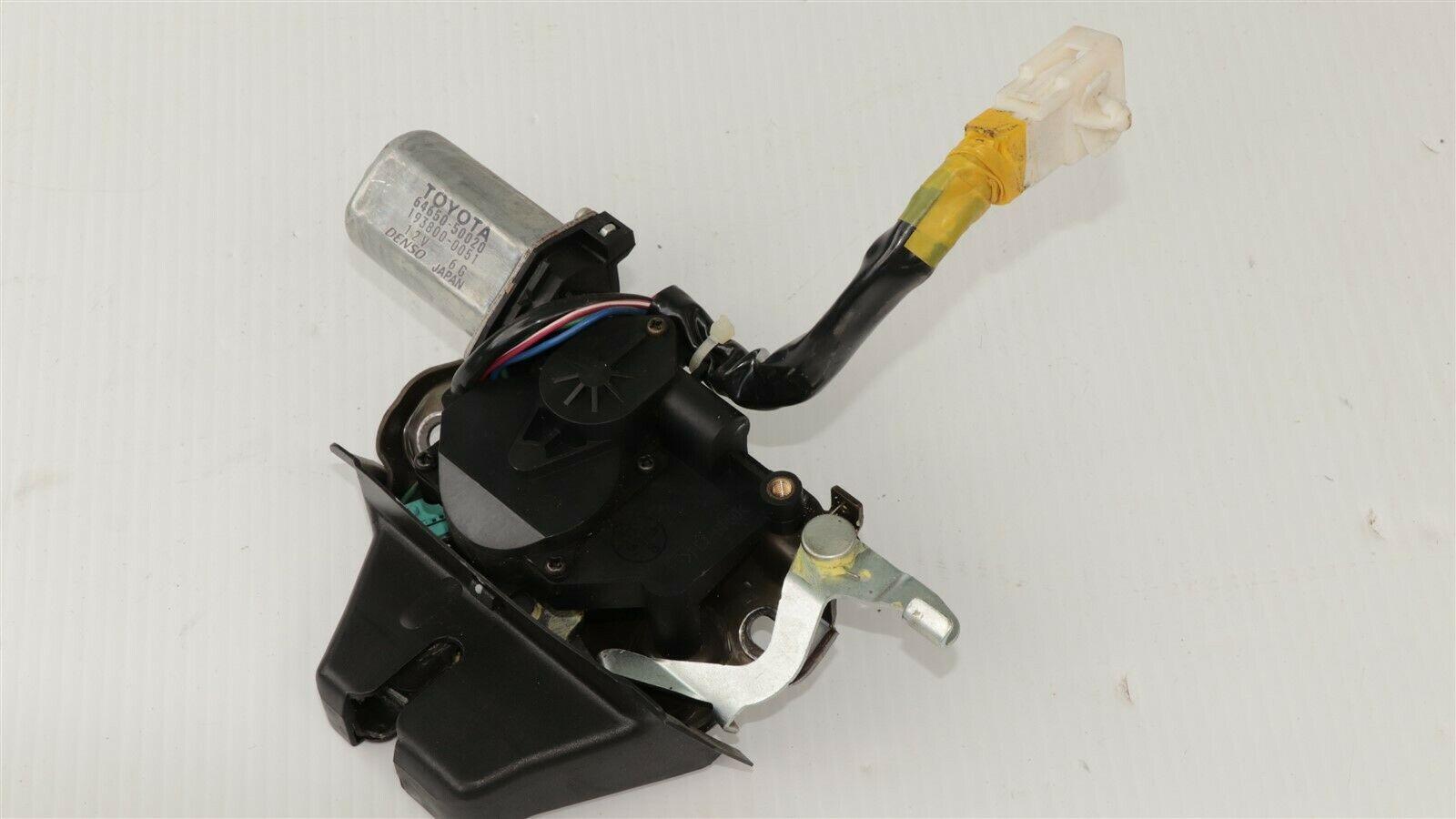 01-06 Lexus Ls430 Trunk Lid Latch Lock Actuator W Motor