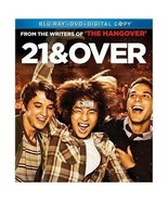 21 and Over (Blu-ray Disc Only) Includes Case And Slipcover - $3.90