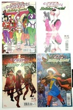 Gwenpool Holiday Special #1 Variant 4 Comic Set Marvel Comics Ms Marvel ... - $24.18