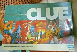 NEW SEALED 1996 2002 Parker Brothers CLUE Classic Detective Board Game Mystery - £21.71 GBP