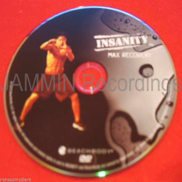 Primary image for INSANITY - Max Recovery - New DVD / Shaun T - Official Release