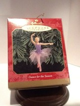 Hallmark Keepsake - Dance for The Season Ballerina - 1999 - QX6587 - Mint - $2.95
