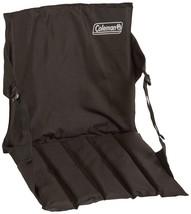 Padded Stadium Seat Portable Chair Black Bleacher Cushion Bench Camping ... - $17.75
