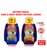 Antibacterial Hair Body Wash for Kids Junior Child Blueberry 280g DHL EX... - $29.69